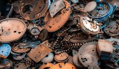 Time Pieces (Gordon McCallum) Tags: timepieces watchparts spitalfieldmarket london londonengland sony sonya6000
