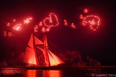 _4LN9096_ I ♥ La Recouvrance (Brestitude) Tags: brest feu dartifice larecouvrance goëlette boat bateau night bretagne ville city port harbor ©laurentnevo2017 coeur hart fireworks anniversary anniversaire brittany breizh fêtenationale