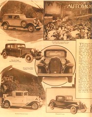 1932 Cars, Pg. 5 (aldenjewell) Tags: 1932 hupmobile eight chrysler five passenger coupe cadillac v12 twelve durant standard plymouth article land motor san francisco