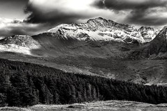 Black and White (jasty78) Tags: mountain blackandwhite mono skye highlands scotland nikon d5200 sigma350mmf14 cuillin