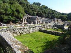 0014 Shrine of Asclepius, Butrint (5) (tobeytravels) Tags: albania butrint buthrotum illyrian shrine asclepius temple