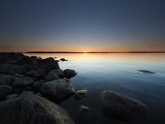 Last ray of light (Jarno Nurminen) Tags: 3stop gndr filter nisi mzuiko714pro wideangle olympusinspired olympus rönnskär islet island seascape rocks sunset finland archipelago porvoo