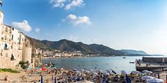 Cefalu (luciechlebikova) Tags: cefalu sicily italy vacation island sea