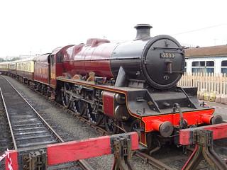 LMS 5593 Kolhapur @ Tyseley Locomotive Works