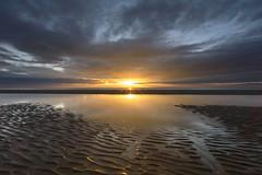 Sunrise (John__Hull) Tags: breath taking landscape seascape mablethorpe lincolnshire east coast england uk sunrise beach sand ripples reflection texture clouds sky nikon d3200 sigma 1020mm sun