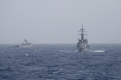 170715-N-BY095-0131 (U.S. Pacific Fleet) Tags: jssazanami ddg113 takanamiclassdestroyer inskirpan blackwoodclassfrigate malabar2017 bayofbengal