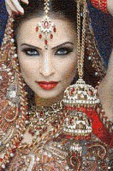 South Asian Brides Mosaico (by zurera) Tags: mosaico digital hd art collage retratos portraid zurera people fotomontaje image autoretratos mosaic