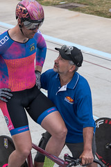 jack at keirin start, and holder gordon (tangobiker) Tags: velodrome racing track bicycle oregon