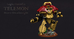 Legio Custodes Telemon Heavy Dreadnought (Garry_rocks) Tags: lego mecha warhammer 40k horus heresy legio custodes telemon dreadnought