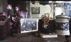 Memories. (C O L O U R S O F D E C A Y) Tags: abandoned abandonedplaces urbex urbanexploration home memory memories canon decay forgotten flowers roses