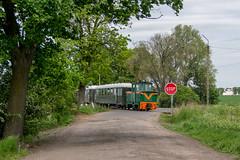 Besuch bei der Schrodaer Kreisbahn -II- by ТУ4 - ... aufgenommen am Haltepunkt Annopole