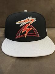 2017 Salem-Keizer Vocanoes Alternate Hat (black74diamond) Tags: 2017 salemkeizer volcanoes alternate hat