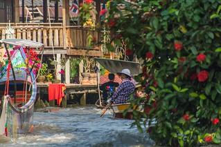 marche fottant damnoen saduak - thailande 26