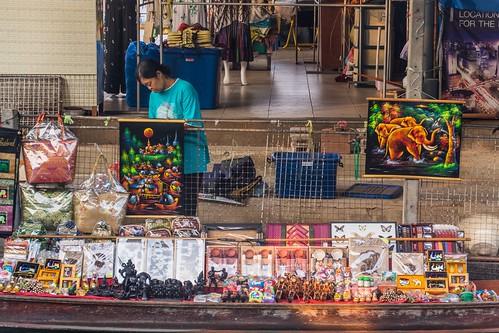 marche fottant damnoen saduak - thailande 3