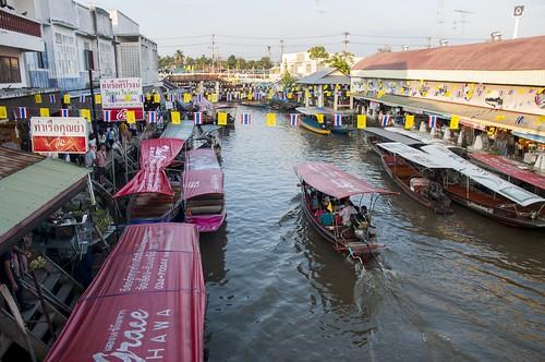 marché flottant amphawa - thailande 7