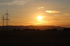Sunset (LuckyMeyer) Tags: sonnenuntergang sunset sonne sun sommer summer spaziergang abend landscape