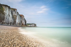 Summer in Normandy (Ellen van den Doel) Tags: nature france lucht natuur normandy outdoor sky juli long rots le zomer beach pebbles holiday vakantie sea landscape summer 2017 rock landschap strand exposure frankrijk berg klif seascape zee normandie cliff mountain sassetotlemauconduit fr