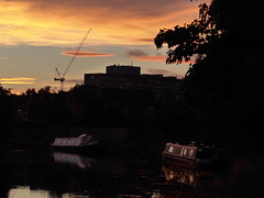 Sunset (moley75) Tags: sunset sky hanwell london ealing westlondon grandunioncanal riverbrent