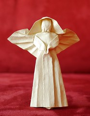 Origami Angel (Gregorigami) Tags: origami angel origamiangel engel origamiengel christmas weihnachten basteln falten papier wetfolding nassfalten folding paper paperart