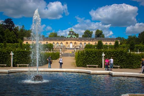 Bildergalerie and Kleine Fontane, Potsdam