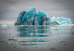 Blue Berg (Chris Willis 10) Tags: spitzbergenholidaywedding svalbard spitsbergen icebergiceformation nature sea ice glacier blue arctic coldtemperature water landscape frozen scenics snow beautyinnature polarclimate sky