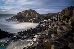 Giants Causeway Big Stopper (James G Photography) Tags: uploadedviaflickrqcom giantscauseway bigstopper sunset ireland longexposure northernireland basaltcolumns atlanticocean basalt hexagons unitedkingdom gb