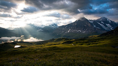 Morning Eiger (Nicolas Gujer) Tags: männlichen grindelwald lauterbrunnen eiger thunderstorm wengen