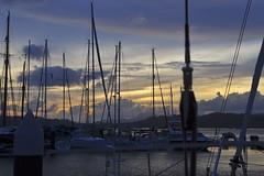 DSC_6980 (Phytophot) Tags: malaysia kuah dusk peaceful marina yacht boats sailing
