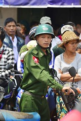 Soldier (@Mark_Eveleigh) Tags: asia asian burma burmese east indochina myanmar south shanstate soldier military army