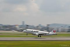 Itami Airport 2017.7.19 (16) JA219J / J-AIR's ERJ-170 (double-h) Tags: omd em1markii omdem1markii lumixgxvariopz45175mmf4056asphpowerois rjoo itm osakaairport itamiairport 大阪空港 伊丹空港 airplane 飛行機 伊丹スカイパーク itamiskypark ja219j jair jal ジェイエア erj170