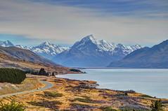 Lake Pukaki/Mt Cook, Tekapo, Canterbury (Lim SK) Tags: tekapo lake pukaki mt cook new zealand canterbury