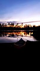 20170724_220943_1 (patrik.stjerna) Tags: copyright stjerna samsung s7 edge sweden swedish sverige svensk nordic norden scandinavia skandinavien explore wideangle summer sommar warm varm varmt lake sjö sunset solnedgång paddling canoe paddle