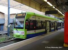 Croydon 2530 Wimbledon (TonyW1960) Tags: tram croydontramlink 2530 wimbledon