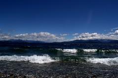 Lago Nahuel Huapi. (luisarmandooyarzun) Tags: landscapephotography landscape airelibre panoramica photography blue azul lake lago argentina patagoniaargentina paisaje