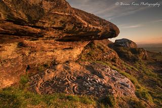 Ketley Crags Rock Art Carvings