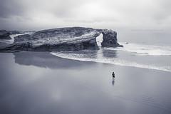 Peace (iJavito) Tags: blackwhite peace ijavito photography galicia bw loneliness soledad paz beach playa nature ribadeo spain