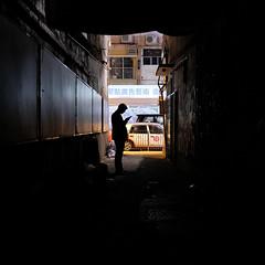 """you've got message"" (hugo poon - one day in my life) Tags: xt2 23mmf2 hongkong causewaybay tanglungstreet alley backalley dark percivalstreet citynight message solitude break tram shadow dilapidation vanishing sign fav"