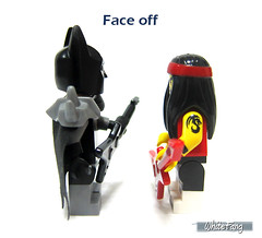 Face off (WhiteFang (Eurobricks)) Tags: lego collectable minifigures series city town space castle medieval ancient god myth minifig distribution ninja history cmfs sports hobby medical animal pet occupation costume pirates maiden batman licensed dance disco service food hospital child children knights battle farm hero paris sparta historic ninjago movie sensei japan japanese cartoon 20 blockbuster cinema people