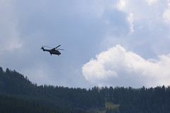 Aerospatiale AS 332 Super Puma (CHRISTOPHE CHAMPAGNE) Tags: 2017 alpes serre chevalier helicoptere aerospatiale super puma as 332 2377 fu eh 367 parisis