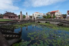 Văn miếu Hội An (meezoid) Tags: pond vietnam asia travel lily lillies plants nature temple buddhist architecture hoian