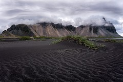 The Clouds at Vestrahorn (jeffreyabong) Tags: iceland summer clouds travel mountains cloudy vestrahorn beach black sands landscape scenery hofn southeasticeland icelandtravel visiticeland icelandbeauty