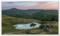 ABC_3807 (Lynne J Photography) Tags: cumbria lakedistricy kellyhalltarn sunrise nikon tarn reflection sunset lonetree lone tree waterfalls longexposure tomgillfalls