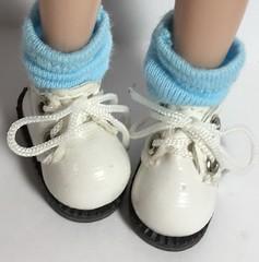 Fresh Blue...Short Socks For Blythe...