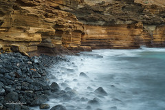 Küste Teneriffa / Coast of Tenerife (Claudia Bacher Photography) Tags: teneriffa tenerife wasser water meer sea felsen rock lava arona küste coast landschaft landscape langzeitbelichtung longexposure natur nature outdoor sonya7r