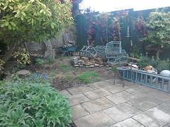 Garden Railway - New Site. (Pete 1957) Tags: garden fence diy saffronwalden coathfamily essex