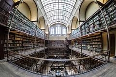 2017-05-Amsterdam-8652 (unguentius) Tags: library amsterdam rijksmuseum museum books fisheye