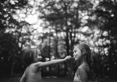 203  365 (trois petits oiseaux) Tags: kids childhood 365 share twins sisters