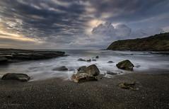 InCurve (Crouchy69) Tags: sunrise dawn landscape seascape ocean sea water coast clouds sky rocks storm cloud frazer munmorah national park nsw australia