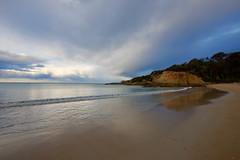 Quiet sea (jack eastlake) Tags: walk cafe club wharf tathra beach far south coast nsw aus bega valley surf d810 wide lens 1735mm nikon historic seascape seaside rocky geology