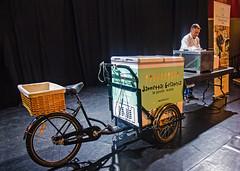 Jannetta's Ice Cream Lecture, Edinburgh (Joe Son of the Rock) Tags: icecream gelato jannettas lecture edinburgh edinburghfoodfestival georgesquare basilandoreganoicecream